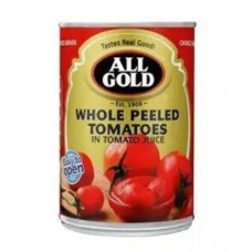 All Gold Whole Peeled Tomatoes 400g