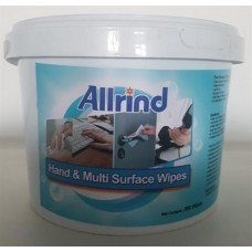 Allrind Hand and Multi Surface Sanitizing Wet- Wipes