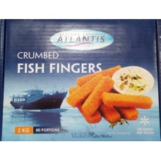 Crumbed Fish Fingers 2kg