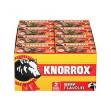 Knorrox Beef Flavour Stock Cubes