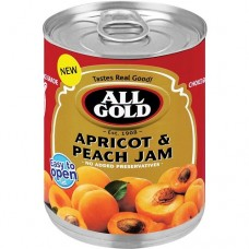 All Gold Smooth Apricot and Peach Jam 225g