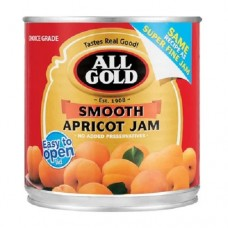 All Gold Smooth Apricot Jam 225g
