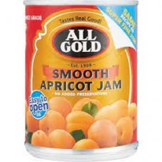 All Gold Smooth Apricot and Peach Jam 450g